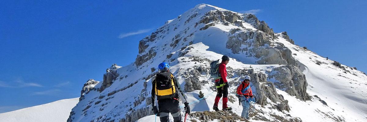 cresta ovest del Monte Bicco